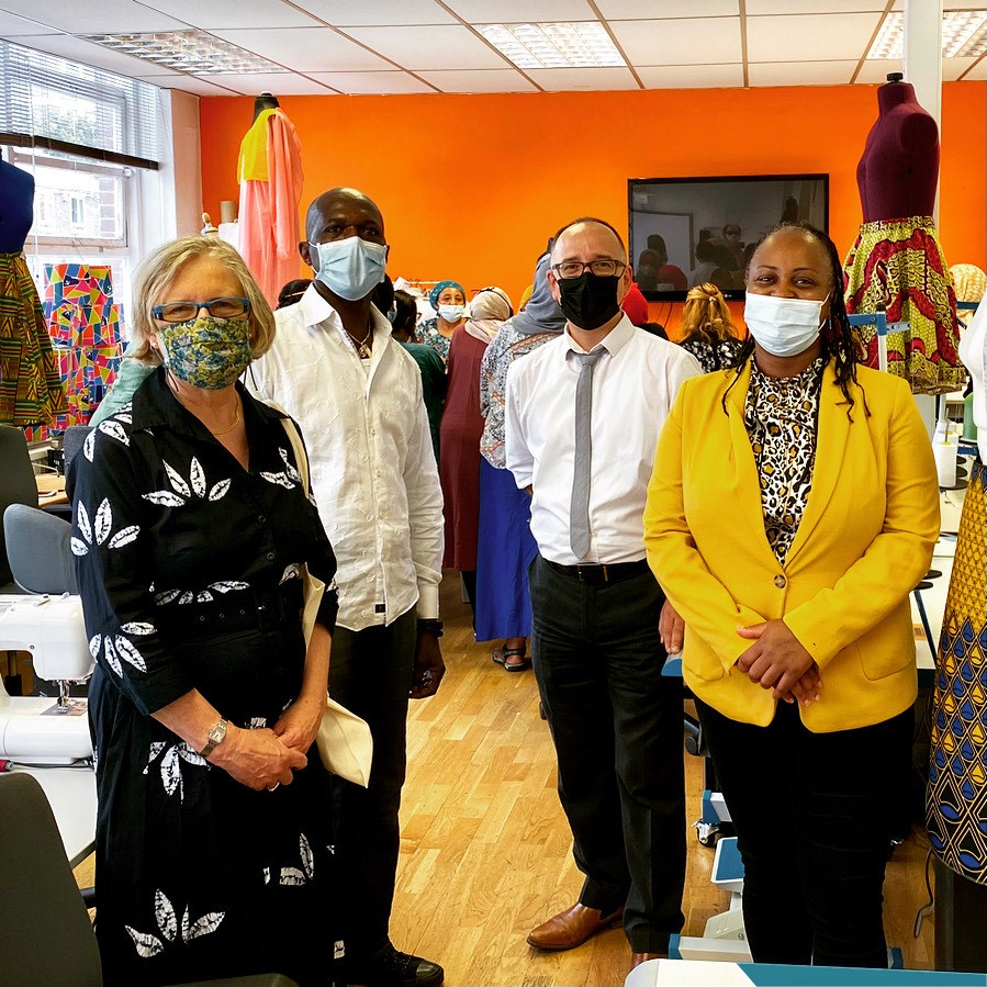 VIP Visit to WEPT PROJECT on Thursday 15 July 2021